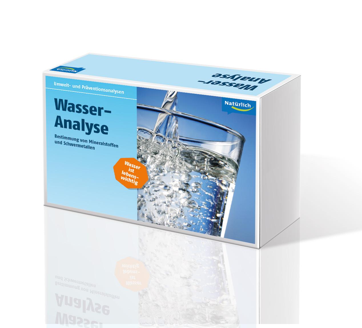 Testkit für Wasser-Analyse aus der Natürlich-Apotheke